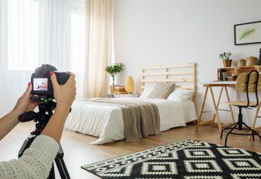 Es werden ansprechende Fotos einer Immobilie aufgenommen